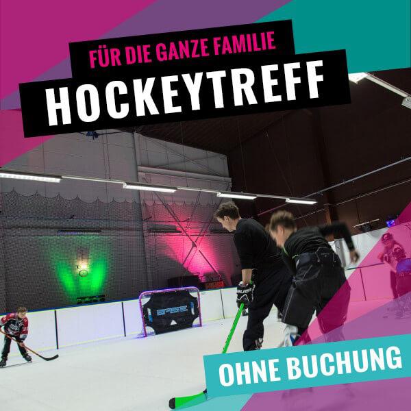 Eishockey für die ganze Familie bei SLIDE COLOGNE - Kölns 1. Kunsteis-Arena in Dellbrueck