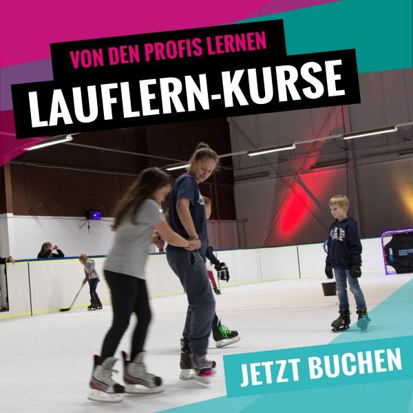 Schlittschuh Lauflern Kurse bei SLIDE COLOGNE - Kölns 1. Kunsteis-Arena in Dellbrueck