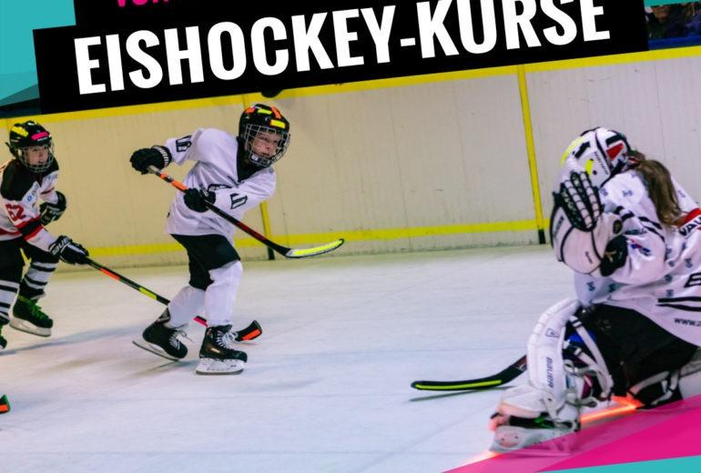 Eishockey-Kurse für Kinder ohne Altersgrenze bei SLIDE COLOGNE - Kölns 1. Kunsteis-Arena in Dellbrueck