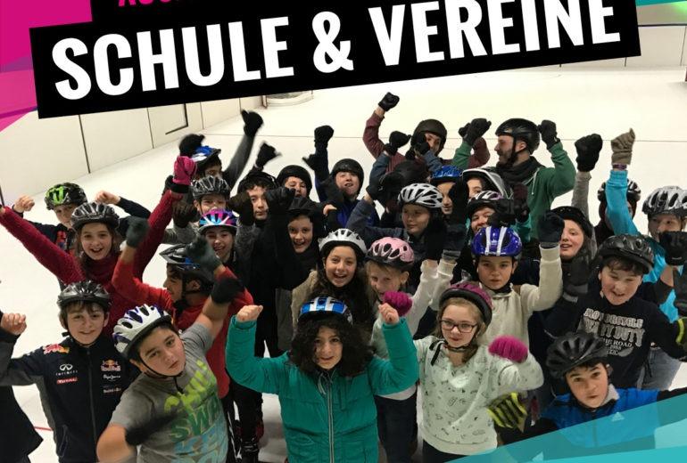 Angebote für Schulen und Vereine bei SLIDE COLOGNE - Kölns 1. Kunsteis-Arena in Dellbrueck